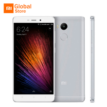 "Xiaomi Redmi 4 3GB RAM 32GB ROM Mobile Phone Snapdragon 625 Octa Core CPU 5.0"" FHD 13MP Camera 4100mah Fingerprint ID Original"
