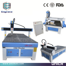 new model Unich 1224 cnc router machine/cnc sheet metal cutting machine
