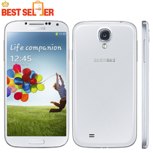 Original Unlocked Samsung Galaxy S4 SIIII I9500 Cellphone Quad-core 13MP Camera 5.0'' 2GB 16GB NFC WIFI GPS Refurbished Phones