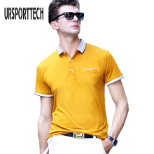 Summer Brand Mens Polo Shirts With Pocket Men's Short Sleeve Polo Camisas Polo Shirt Business Casual Solid Slim Fit Polo Shirts