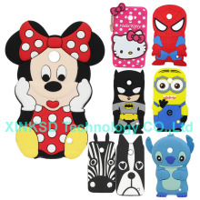 For Nokia Lumia 630 635 Phone Shell 3D Cartoon Minions Minnie Hello Kitty Batman SpiderMan Zebra Dog Soft Silicone Cover Case
