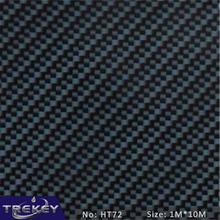 [Width 1M] Blue carbon fiber Pattern Water Transfer Printing Film HT72, Hydrographic film, Decorative Material