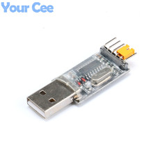 USB to TTL UART Module CH340G CH340 USB Microcontroller Download Cable Brush Board USB to Serial 3.3V 5V Switch(China)
