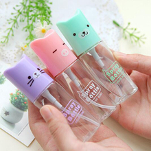 Cute Kitty Style Perfume Spray Bottle 35ml Cosmetic Tools Small Refillable Bottle
