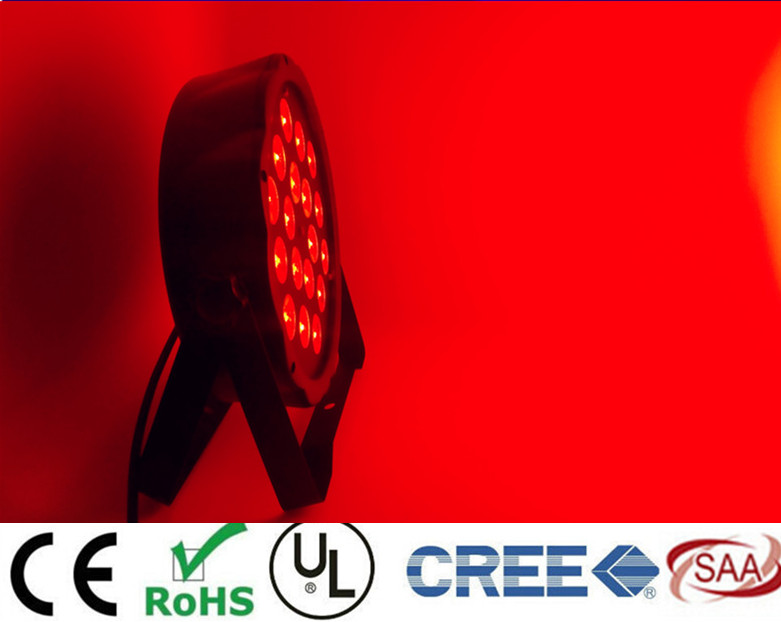 New 2017  18x8W RGBW 4in1 RGBW 4IN1 LED Flat Par  RGBW Color Mixing LED DJ Wash Light Stage Uplighting KTV Disco DJ DMX512<br>