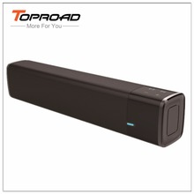 TOPROAD Soundbar NFC Bluetooth Speaker Dual Bass HIFI Altavoz Wireless Stereo Parlante Support TF Card AUX for Smartphone TV PC(China)