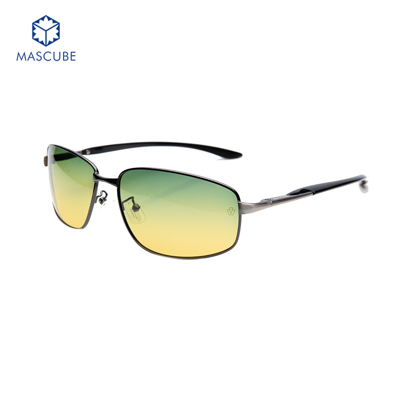 Fashion Mens Driving Fishing Eyeglasses Polarized Sunglasses Aluminum Alloy Frame Mirrors Lentes De Sol Day And Night Vision<br><br>Aliexpress