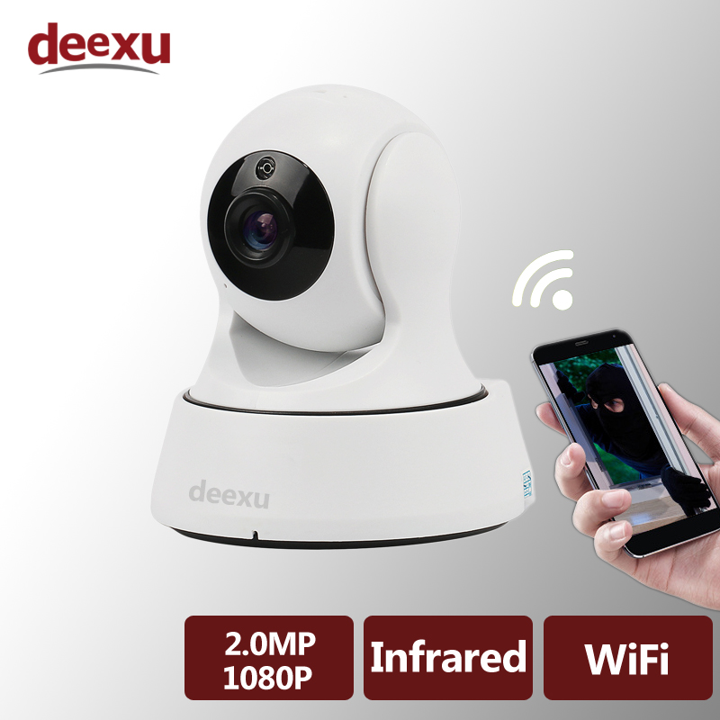 1080P Smart wireless WiFi surveillance security IP Camera Audio recording infrared night vision Network IP Camera Baby Monitor<br>