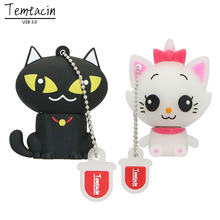 Cat USB Flash Drive PenDrive Stick 4GB 8GB 16GB 32GB 64GB USB 3.0 Pen Drive Flash Memory Stick USB Disk(China)