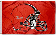 Cleveland Browns Team Logo 3'x5' Ft Polyester Grommets Indoor-Outdoor Custom Flag Banner flags