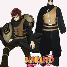 custom made hot anime Halloween costumes for men Naruto Gaara Cosplay Costume Gaara Kazekage cosplay costume