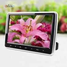 2 PCS 10.1 Inch 1024*600 Car Headrest Monitor DVD Player USB/SD/HDMI/FM TFT LCD Screen Touch Button 32 Bit Game Remote Control(China)