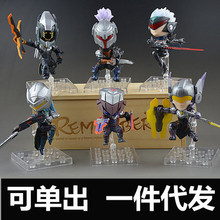 NEW hot 9cm PROJECT Leona Yasuo Zed Master Yi Lucian Fiora action figure toys collection doll Christmas gift with box