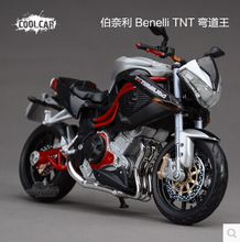 Benelli TNT 1:12 Motorcycles Maisto Diecast origin Metal MotoBike racing Curve Model Toy boy Kids collection Free shipping