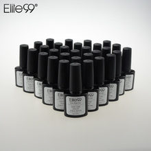 Elite99 One Step Gel in Nail Gel Whole Set All Color 60pcs Soak Off Nail Polish No Base Top Nail Art Color Conventional Varnish