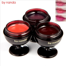 BY NANDA Red Wine Lipstick Long Lasting Moisturize Fruity Jelly Lip Balm Lip Nourish Care Plant Extract Makeup maquiagem(China)