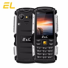 Original EL S600 2G Cheap Mobile Phone Keyboard Waterproof Shockproof Cellphone IP68 Dual Sim Brand New Phones Free shipping(China)
