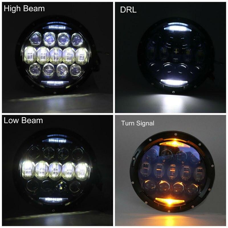 130W 7inch LED Headlight25800