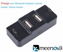 Meenova USB 2.0 Hub with MicroUSB Charging, for Bluetooth headset, headphone, activity tracker, Xiaomi Redmi 3, charging dock
