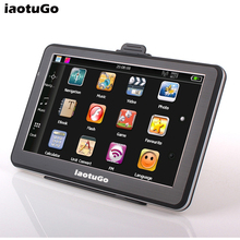 7 inch Car Navigator Truck gps navigation,HD,MTK,256M\8G FM MP3/MP4 Game Free Maps Updated(China)