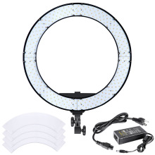 Neewer 18 inches 55W LED Ring Light Dimmable Bi-color Lighting Kit with LCD Display White Filter for Camera Photo Studio YouTube(China)