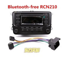 Head Unit Car Radio RCN210 with Installing Adapter (no Bluetooth) CD MP3 USB SD Card AUX For Golf 5 6 Jetta Mk5 MK6 Passat B6