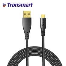 Tronsmart 1m USB Micro USB Cable Nylon Gold Fast Charging samsung galaxy S9,s9 plus,xiaomi,samsung note 8