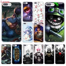 Lavaza lol League of Legends yasuo Teemo LEE SIN Garen Hard Phone Case for Apple iPhone 8 7 6 6S Plus X 10 5 5S SE 5C 4 4S(China)