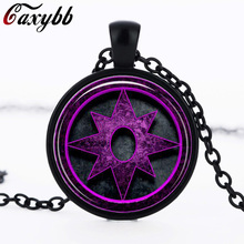 2016 New Fashion Hot Glass Dome Jewelry Viking Compass Necklace Glass Picture Pendant Gifts For Men