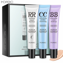 3Pcs/set Flawless BB CC Cream Whitening Concealer Blemish Balm Moisturizing Oil-control Face Makeup Liquid Foundation Cosmetics(China)