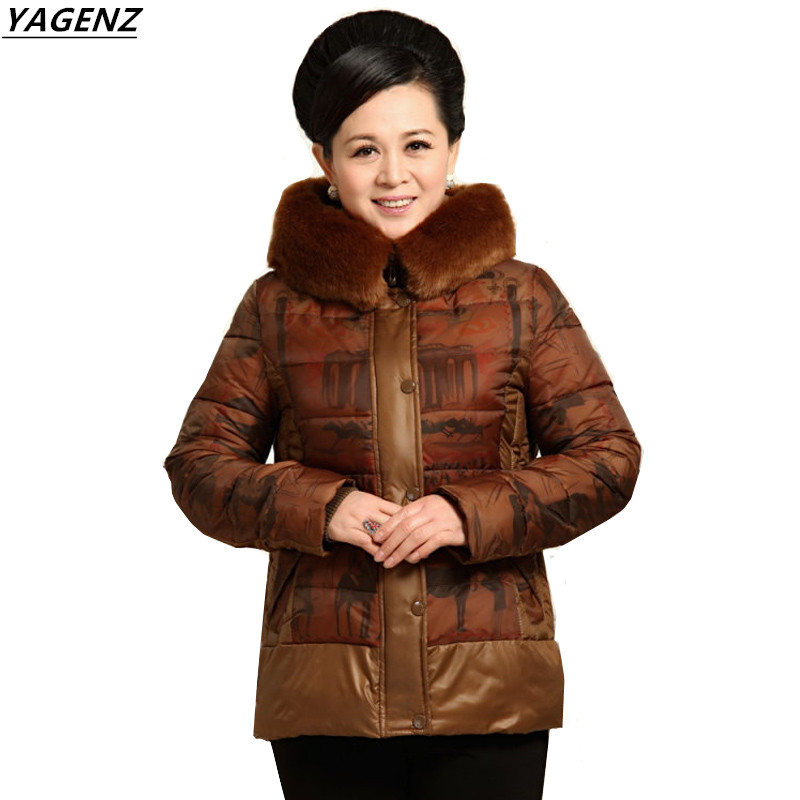 2017 Winter Woman Down cotton Jacket Long Sleeve Cotton Short Jacket Winter Parka Outerwear Casual Tops Plus Size 4XL YAGENZ Îäåæäà è àêñåññóàðû<br><br>