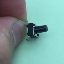50pcs/lot 6x6x9MM 4PIN G94 Tactile Tact Push Button Micro Switch Direct Self-Reset DIP Top Copper
