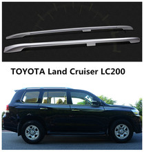 Auto Roof Racks Luggage rack For TOYOTA Land Cruiser LC200 2008.09.2010.2011.2012.2013.2014.2015.2016 High Quality Aluminum