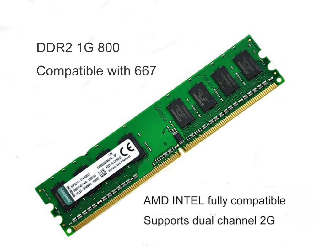 Free shipping Brand New Sealed RAM DIMM  MEMORY 4G  4*1G DDR2 800 fully compatible<br>