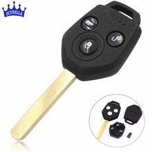 3 Buttons Uncut Key Keyless Remote Fob for Subaru Forester 433MHz With 4D62 Chip(China)