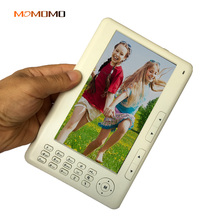 HD 720P 7 inch Ebook Reader Built-in 4GB Memory + Card slot Support micor card Extended digital Video music Playback(China)