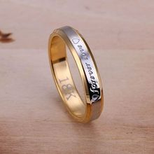 925 Jewelry Silver Plated Wholesale Free Shipping Rings for women&men Forever Love Ring-For Women /asiajjpa LQ-R096(China)