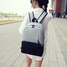 Fashion backpack school backpack for teenage large capacity female canvas backpack unisex student school bag Laptop Travel Bag