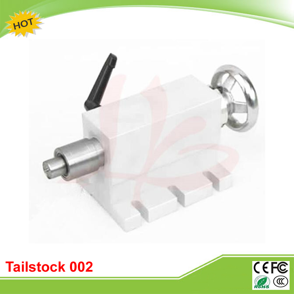 CNC tailstock 002, 4 Axis, MT2 Rotary Axis Lathe Engraving Machine Chuck<br>