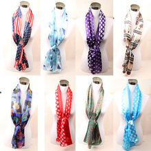 2017 New American Flag Scarf  Women Vintage USA Flags Fashion Print  Infinity Scarves Pashmina Shawls Hijab Accessory WJ8001