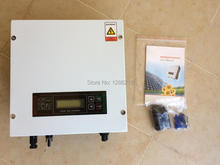 1000W grid tie inverter with pure sine wave output DC100~500V to AC230/110V,50/60HZ grid connected inverter for solar power sys.