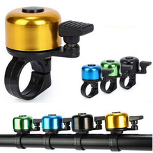 Aluminum Alloy Bicycle Bells Bike Bell Sound Resounding High Quality Bike Handlebar Ring Horn 6 Color Bike Accessories