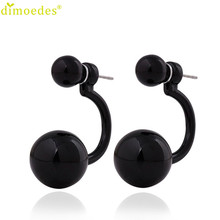 Diomedes Newest Gorgeous Earrings 9 colors 1Pair Women Lady Lovely Girl Ear Charm Stud Earrings Gift #0114