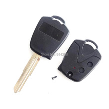 10pcs/lot Replacement 2 Button Remote Key Case Shell Car Key Fob Left Blade Fit For Proton Wira 415 416 Persona(China)