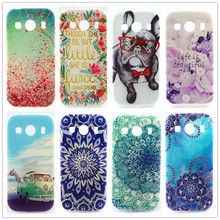 Soft TPU Case For Samsung Galaxy Ace 4 G357 G357FZ Pattern Slim Back Protect Skin Rubber Phone Cover Silicone Gel Case