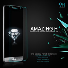 9H Tempered Glass Screen Protector For LG G2 G3 G3S Beat G4S G5 G4 Stylus Stylo 2 II Plus K5 K8 LTE K10 X Power Protective Films(China)