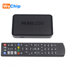 Wechip Hot Iptv Set Top Box Mag 250 Linux System Iptv Mag250 STi7105 Mag250 Linux TV Box 256M Same With Mag254 Media Player