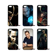 For iPod Touch iPhone 4 4S 5 5S 5C SE 6 6S 7 Plus Samung Galaxy A3 A5 J3 J5 J7 2016 2017 Loki Tom Hiddleston Film Movie Case