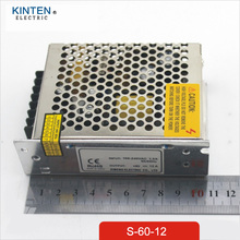 60W 12V 5A Small Volume Single Output Switching power supply Ups for LED Strip light smps Led driver
