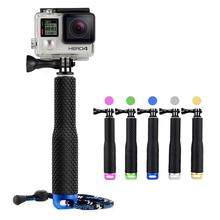 GoPro Aluminum Extendable Pole Stick Telescopic Handheld Monopod with Mount Adapter for GoPro Hero4s/4/3+3/2